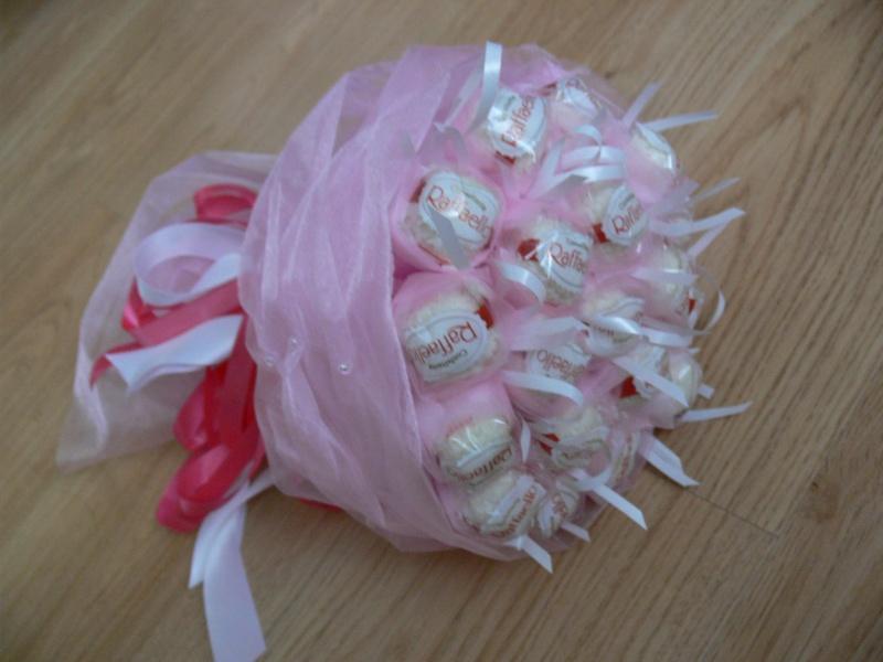 Букет из конфет своими руками пошаговое фото для начинающих подснежники