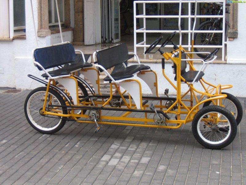 Велосипед рикшу своими руками