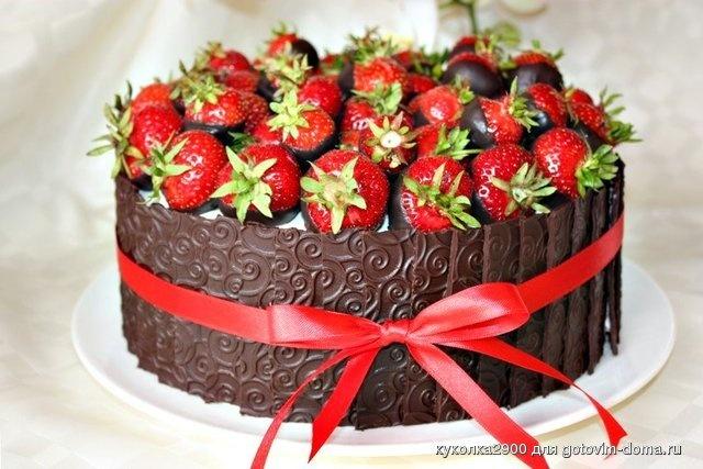 Фото очень красивого торта на день рождение